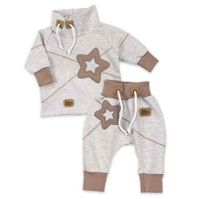 Baby Sweets Shirt & Hose »2tlg Set Shirt + Hose Patchwork Sterne« (2-tlg)