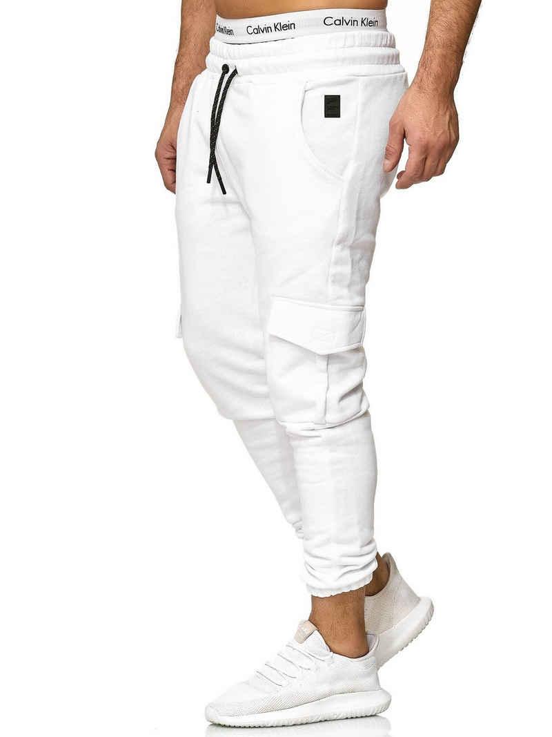 OneRedox Jogginghose »1213C« (Sporthose Trainingshose Sweatpants, 1-tlg., im modischem Design) Fitness Freizeit Casual