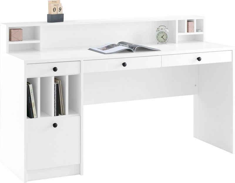 """Places of Style Schreibtisch »Licia«, Schreibtisch """"Licia"""" Große Arbeitsplatte mit viel Ablagefläche"""