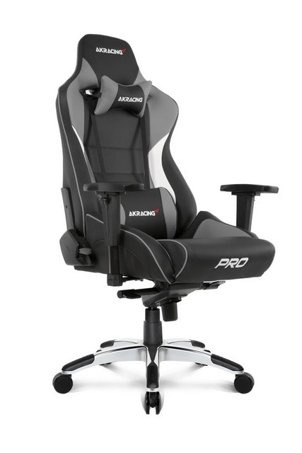 Bürostühle - AKRacing Gaming Stuhl Master Pro »grau« » schwarz  - Onlineshop OTTO