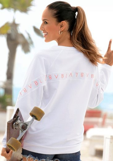 Venice Beach Sweatshirt mit Logoprint