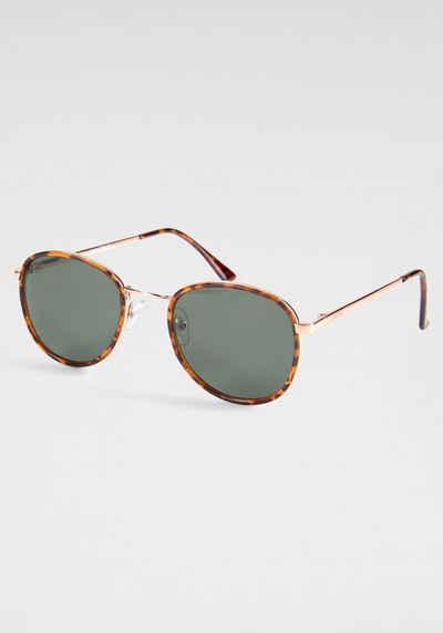 YOUNG SPIRIT LONDON Eyewear Sonnenbrille mit dezentem Vollrand
