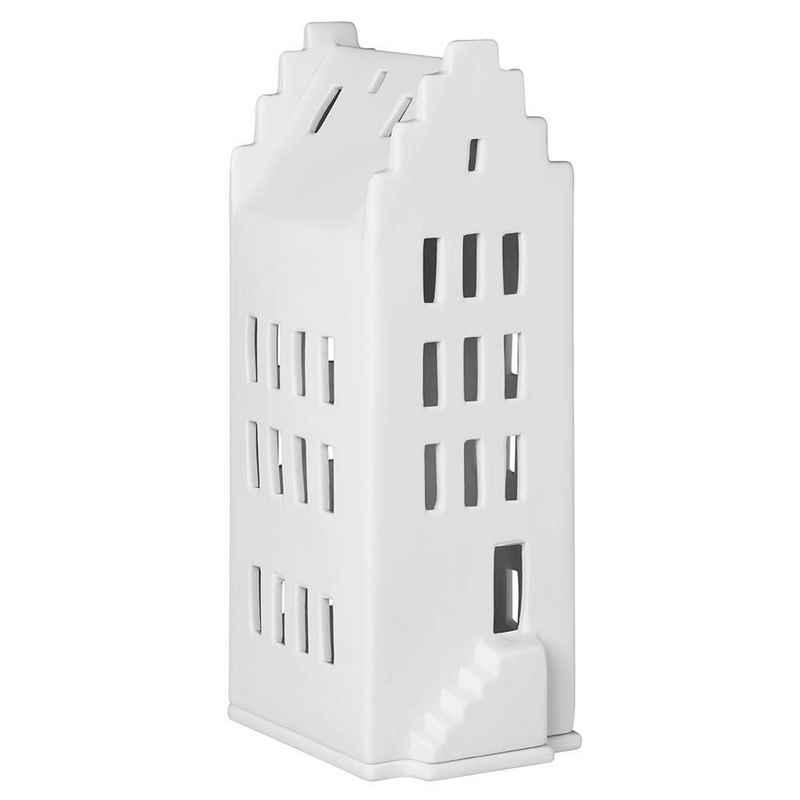 Räder Design Teelichthalter »Lichthaus Zeit« (Packung, 1 Stück, 1-tlg), Lichthaus Giebeldach 7,5 x 9 x 20cm