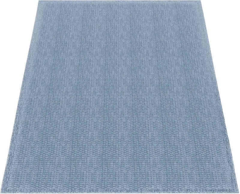 Teppich »Timber 125«, Paco Home, rechteckig, Höhe 4 mm, Flachgewebe, Sisal Optik, In- und Outdoor geeignet, Wohnzimmer