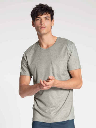 CALIDA Kurzarmshirt »T-Shirt, Compostable« (1-tlg) Made in Europe