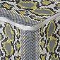 Abakuhaus Pouf »Unter Tisch Fußhocker für Wohnzimmer Büro Ottomane mit Abdeckung«, Snakeskin drucken Vivid Kontrast Kunst, Bild 4