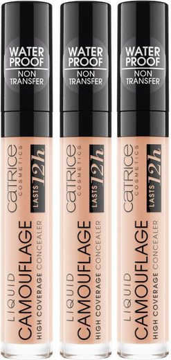 Catrice Concealer »Liquid Camouflage High Coverage«, 3er Pack