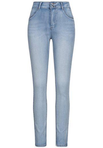 ZABAIONE Skinny-fit-Jeans »ZBNPUSH« Damen Pushup Skinny Fit Jeanshose