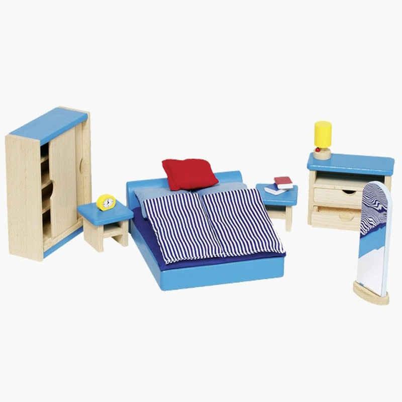 goki Puppenhausmöbel »Schlafzimmer für Puppenhaus« (16tlg)