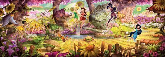 Komar Fototapete »Fairies Forest«, glatt, Comic, bedruckt, (Set), ausgezeichnet lichtbeständig