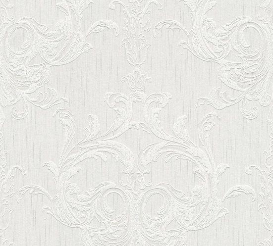 Architects Paper Textiltapete »Tessuto«, samtig, Barock, mit Ornamenten