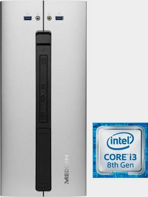 AKOYA E42009 PC (Intel Core i3, UHD Graphics 630, 8 GB RAM, 1000 GB HDD, 128 GB SSD, Luftkühlung, inkl. Office-Anwendersoftware Microsoft 365 Single im Wert von 69 Euro)