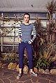 J.Jayz Kette mit Anhänger »Layering Kette mit 3 runden Anhängern«, mit Glassteinen, Bild 6
