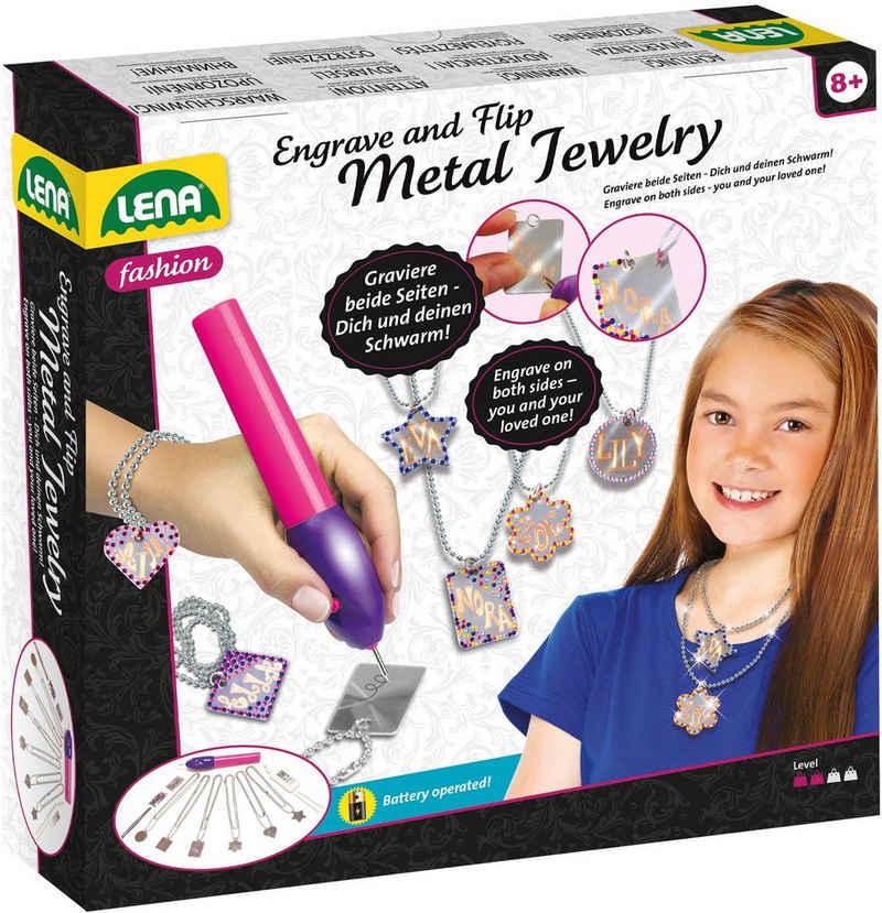Lena® Kreativset »Fashion, Engrave and Flip - Metal Jewelry«