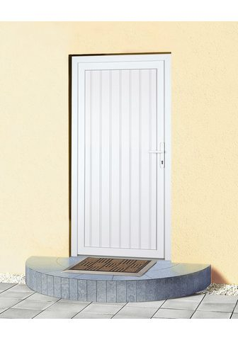 KM Zaun Haustür »K608P« BxH: 108 x 203 cm weiß...