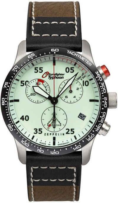 ZEPPELIN Chronograph »Eurofighter Typhoon, vollfluoreszierendes Ziffernblatt, 7298-5«