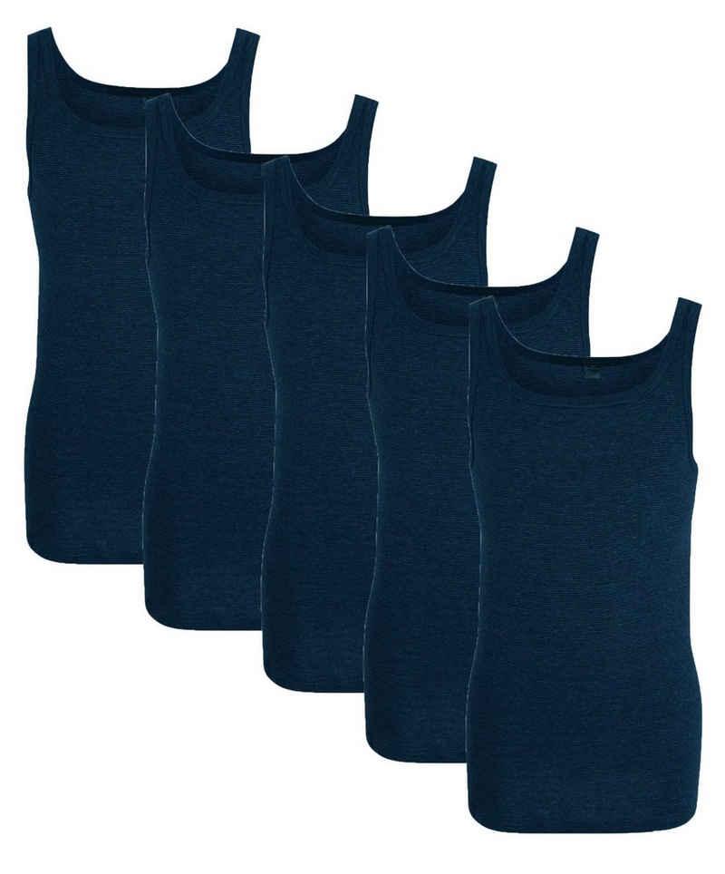 GÖTZBURG Unterhemd (5 Stück), Feinripp Qualität
