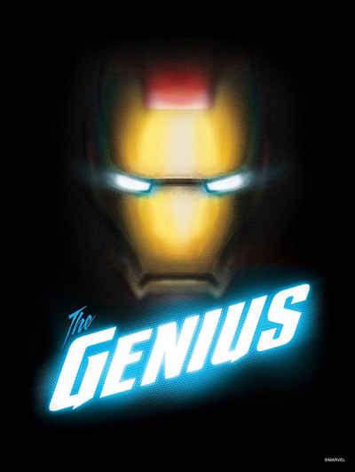 Komar Wandbild »Avengers The Genius«