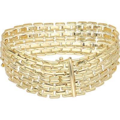 Luigi Merano Armband »glanz, Gold 585«