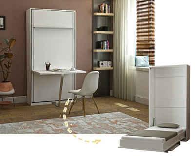 Multimo Klappbett »Multimo PRIMER HAPPY Wandbett mit Schreibtisch«