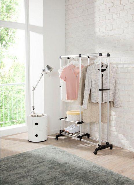 Kleiderständer und Garderobenständer - Ruco Kleiderständer, Aluminium Kunststoff, mit Rollen  - Onlineshop OTTO