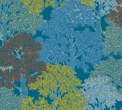 Architects Paper Vliestapete »Floral Impression«, glatt, floral, botanisch, Wald