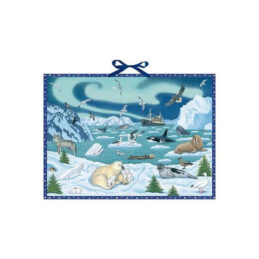 Coppenrath Wandkalender »Tiere der Arktis, Adventskalender«