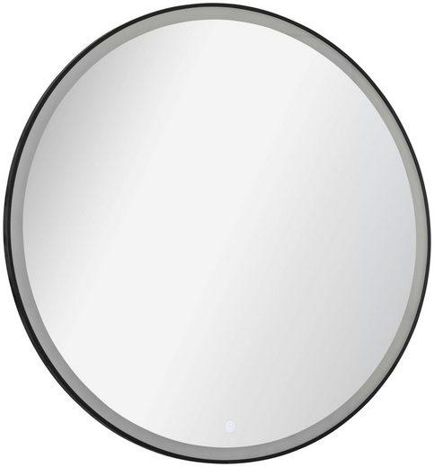 FACKELMANN Badspiegel »New York Rund« (1-St), mit Sensor, 230 V