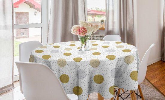 Abakuhaus Tischdecke »Kreis Tischdecke Abdeckung für Esszimmer Küche Dekoration«, Abstrakt Kreisformen Entwurf