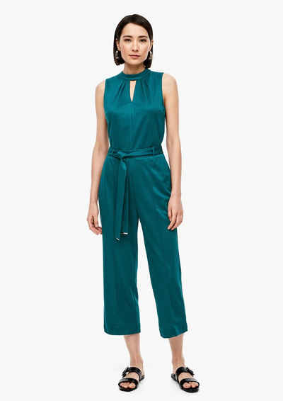 s.Oliver BLACK LABEL Overall »Jumpsuit aus Edeljersey« (1-tlg) Cut Out