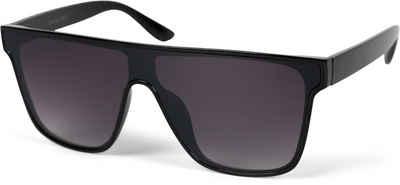 styleBREAKER Sonnenbrille »Monoglas Shield Sonnenbrille« Getönt
