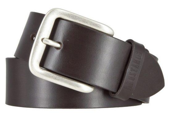 MUSTANG Ledergürtel »Mustang Herren Leder Gürtel Ledergürtel Herrengürt«