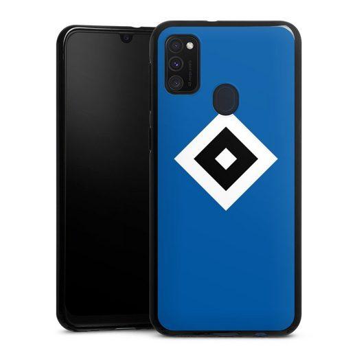 DeinDesign Handyhülle »HSV Blau« Samsung Galaxy M30s, Hülle Hamburger SV Logo HSV