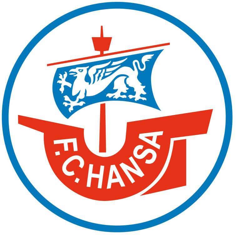 Wall-Art Wandtattoo »Fußball Hansa Rostock Logo« (1 Stück)