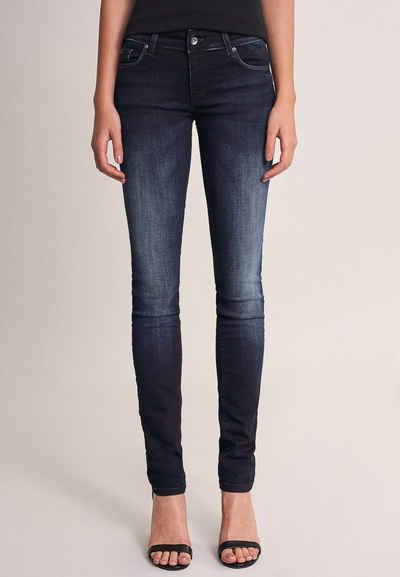 Salsa Slim-fit-Jeans »Wonder« denim, Slim, Mittlere Taille, Jeans