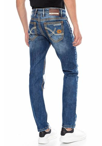 Cipo & Baxx Cipo & Baxx Straight-Jeans im ausgefal...