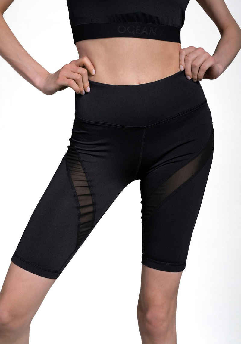 Ocean Sportswear Radlerhose »Activewear - Rad Hose« Nachhaltig aus recyceltem Polyester