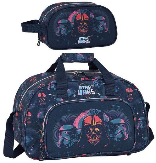 Star Wars Sporttasche »Star Wars - Todesstern - Sporttasche und Kulturbeutel« (Reißverschluss, Jungen), Geringes-Gewicht