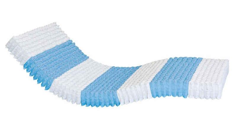 Taschenfederkernmatratze »1000 Federn 7-Zonen Taschenfederkernmatratze«, AM Qualitätsmatratzen, 24.0 cm hoch, Raumgewicht: 35, 1000 Federn, 160x200 cm