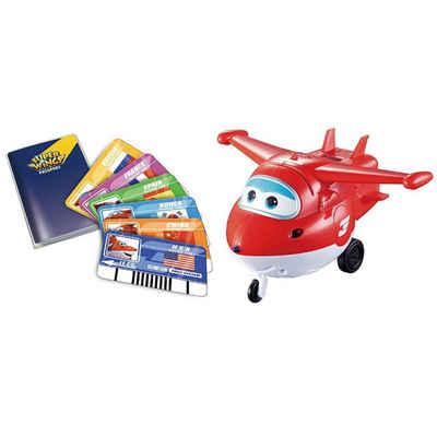Super Wings Merchandise-Figur »Jett - interaktive Spielfigur«, mit interaktiven Spielkarten