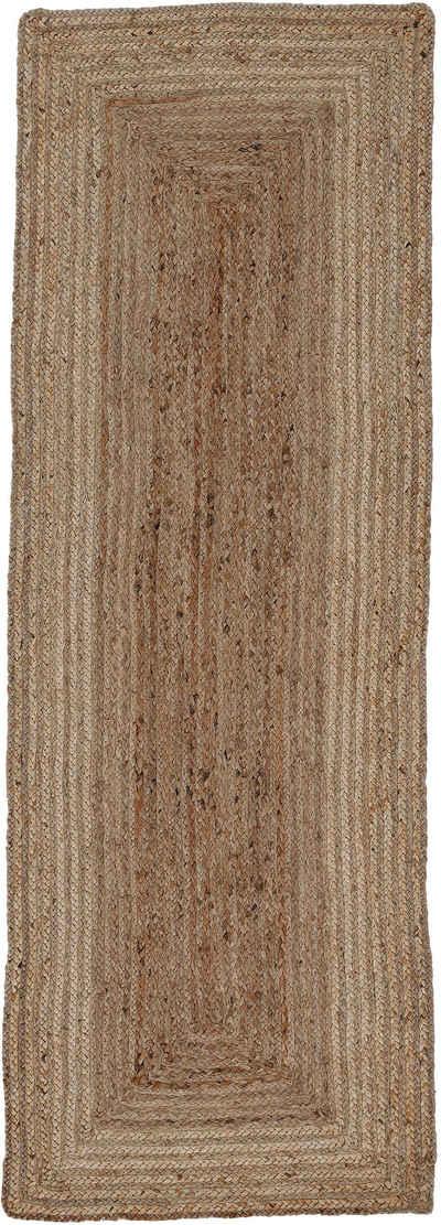 Läufer »Nele«, carpetfine, rechteckig, Höhe 6 mm, Wendeteppich 100% Jute