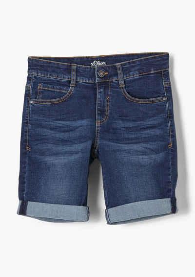 s.Oliver Jungen Regular Fit Jeans mit Slim Leg