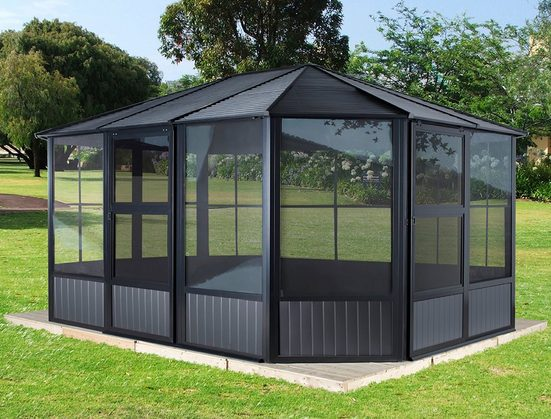 50NRTH Pavillon »Charleston«, BxL: 384x489 cm