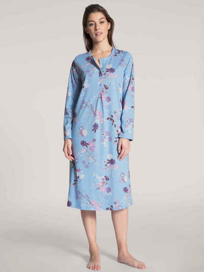 CALIDA Nachthemd »Langarm-Nachthemd« (1-tlg)