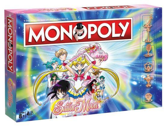 Winning Moves Spiel, Brettspiel »Monopoly Sailor Moon«