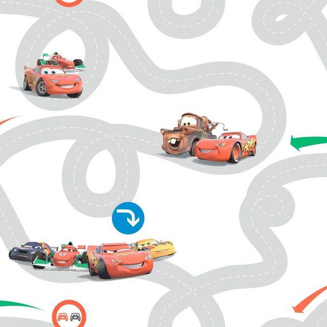 Graham & Brown Papiertabete Cars Racetrack
