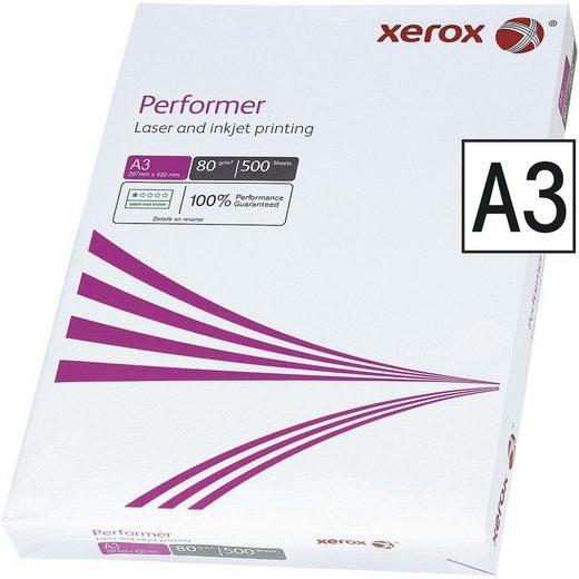 Xerox Druckerpapier »Performer«, Format DIN A3, 80 g/m²