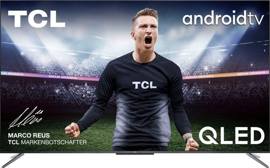 TCL 50C715X1 QLED-Fernseher (127 cm/50 Zoll, 4K Ultra HD, Smart-TV)