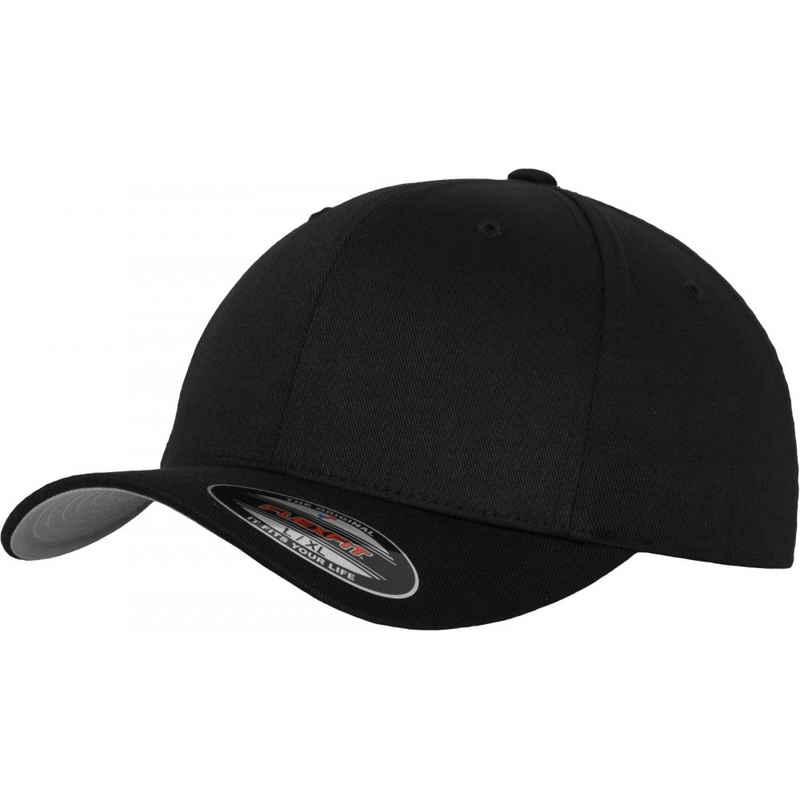 Flexfit Baseball Cap »Wooly Combed Cap black-grey - L-XL«