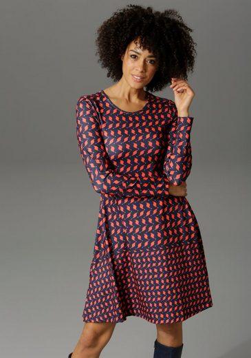 Aniston CASUAL Jerseykleid mit graphischem Druck